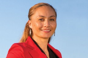 Marama Davidson, Greens candidate for Ikaroa-Rawhiti by-election 2013.